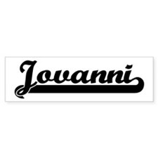 Black jersey: Jovanni Bumper Bumper Sticker