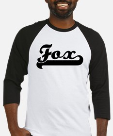 Black jersey: Fox Baseball Jersey