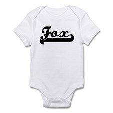 Black jersey: Fox Infant Bodysuit