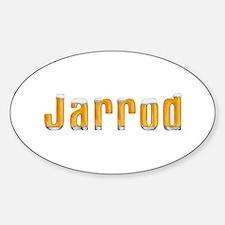 Jarrod Beer Oval Decal