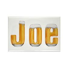 Joe Beer Rectangle Magnet