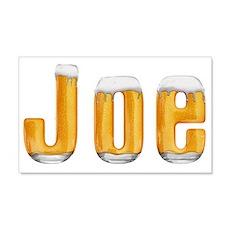 Joe Beer 22x14 Wall Peel