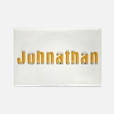 Johnathan Beer Rectangle Magnet