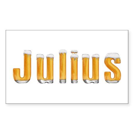 Julius Beer Rectangle Sticker
