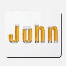 John Beer Mousepad