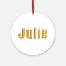 Julie Beer Round Ornament