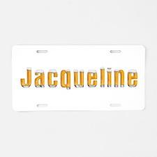Jacqueline Beer Aluminum License Plate