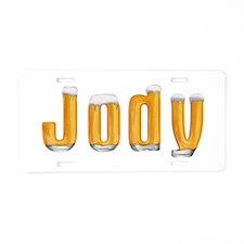 Jody Beer Aluminum License Plate