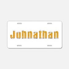 Johnathan Beer Aluminum License Plate