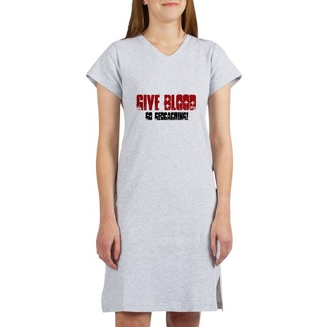 Give Blood! Women's Nightshirt