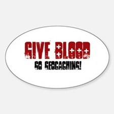 Give Blood! Decal