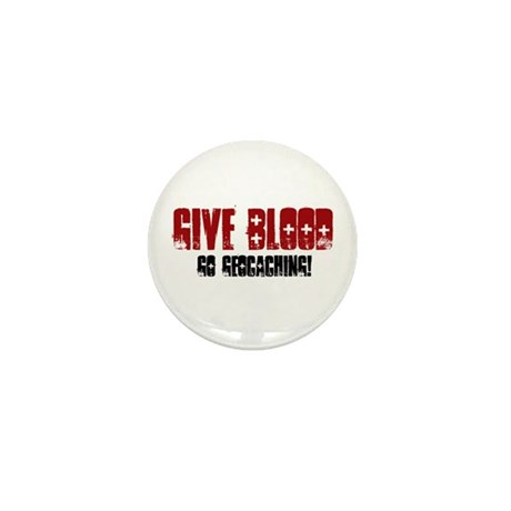 Give Blood! Mini Button (100 pack)