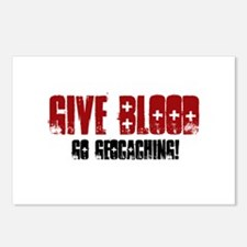 Give Blood! Postcards (Package of 8)