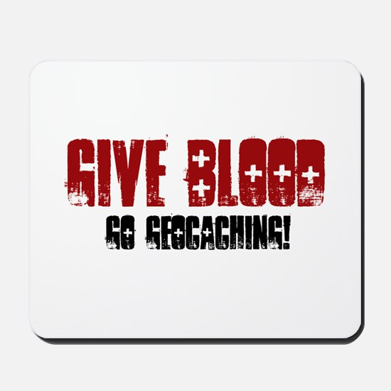 Give Blood! Mousepad