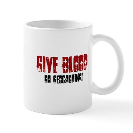 Give Blood! Mug