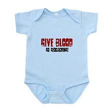 Give Blood! Infant Bodysuit