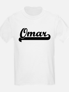 Black jersey: Omar Kids T-Shirt