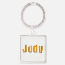 Jody Beer Square Keychain