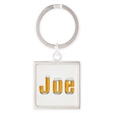 Joe Beer Square Keychain