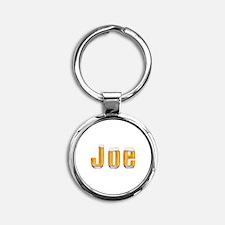 Joe Beer Round Keychain
