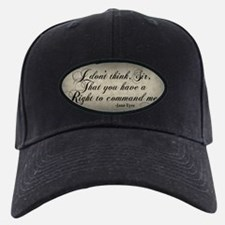 Jane Eyre No Right To Command Me Baseball Hat