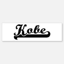 Black jersey: Kobe Bumper Bumper Bumper Sticker