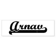 Black jersey: Arnav Bumper Bumper Sticker
