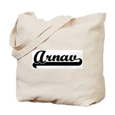 Black jersey: Arnav Tote Bag