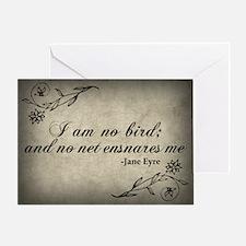 No Net Ensnares Me Greeting Card