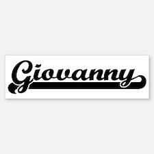 Black jersey: Giovanny Bumper Bumper Bumper Sticker