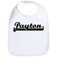 Black jersey: Payton Bib