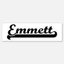 Black jersey: Emmett Bumper Bumper Bumper Sticker
