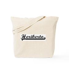 Black jersey: Heriberto Tote Bag
