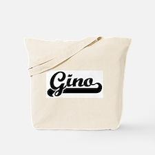 Black jersey: Gino Tote Bag