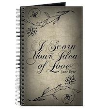 Jane Eyre Scorn Your Idea Of Love Journal