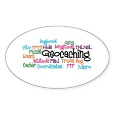 Geocaching Collage Decal