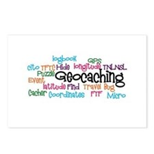 Geocaching Collage Postcards (Package of 8)
