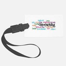 Geocaching Collage Luggage Tag