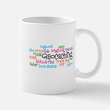Geocaching Collage Small Mugs