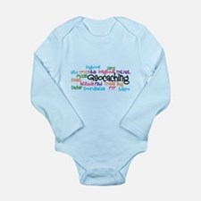 Geocaching Collage Long Sleeve Infant Bodysuit