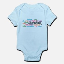 Geocaching Collage Infant Bodysuit