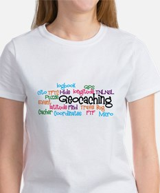 Geocaching Collage Women's T-Shirt