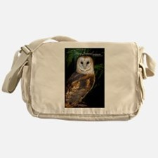 Unique Tyto alba Messenger Bag