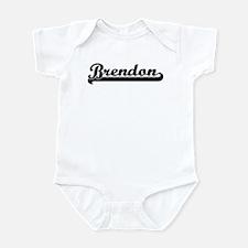 Black jersey: Brendon Infant Bodysuit