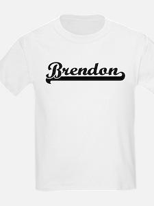 Black jersey: Brendon Kids T-Shirt