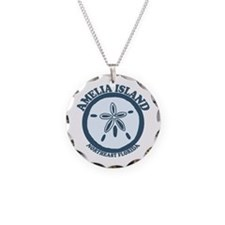 Amelia Island - Sand Dollar Design. Necklace
