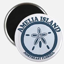 Amelia Island - Sand Dollar Design. Magnet