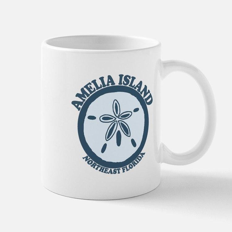 Amelia Island - Sand Dollar Design. Mug