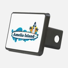 Amelia Island - Surf Design. Hitch Cover