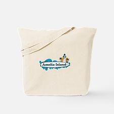 Amelia Island - Surf Design. Tote Bag